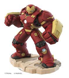 ArtStation - Hulkbuster - Disney Infinity 3.0 - Toy Sculpt, Ian Jacobs