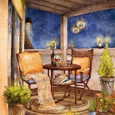 테라스에서 별들과 함께:) #terrace #interior #interiordesign #homedecor #homedesign #design #illustrations #illust #illustrator #stars #starlight #night #drawing #sketch #romantic #grafolio #aeppol #애뽈 #일러스트 #일러스트레이션 #드로잉 #인테리어 #인테리어소품 #테라스 #별빛 #밤 #낭만