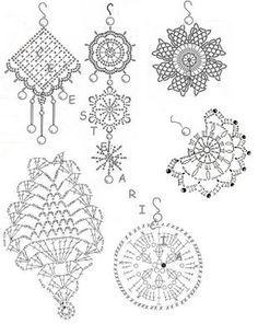 Risultati immagini per crochet earrings pattern