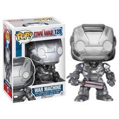 Marvel Pop! Vinyl Figure War Machine (Captain America: Civil War) - Visit to grab an amazing super hero shirt now on sale!