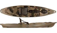 Old Town Predator 13 Fishing Kayak.  We have these in our rental fleet.  Give it a test run! www.kayaklasvegas.com