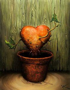 Vladimir Kush – Lovely Plant