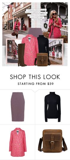 """""""Hey, Girl: Pretty Pink Coats"""" by bklana ❤ liked on Polyvore featuring Altuzarra, Lands' End, J.Crew, ALDO and Alexander McQueen"""