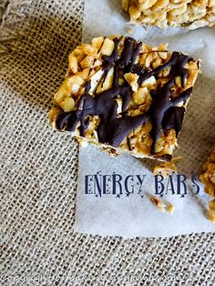 Energy Bars  https://bakinginpyjamas.com/2016/06/21/energy-bars-creative-cookie-exchange/