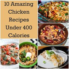 10 Amazing Chicken Recipes Under 400 Calories - Recipes and Cooking Tips