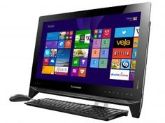 Computador All in One Lenovo IdeaCentre B550 - Intel Core i7 8GB 1TB Windows 8.1 LED Touch 23