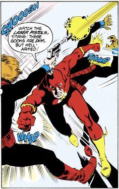 Wally West, Kid Flash, Comic Books, Comics, Cover, Cartoons, Cartoons, Comic, Comic Book