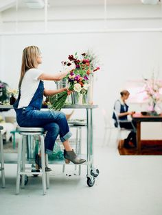 Afterspotting these gorgeous floral spaces I'm on a mission to complete a beautiful home floral studio. Finding a small space that can be transformed into a creative environment is something that can easily be achieved! Even if it's a garage, an area in a washroom or a small shed outside. You don't need a lot...readmore