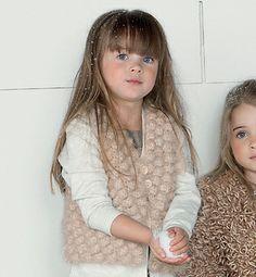 Modèle gilet sans manches crochet - Modèles tricot enfant - Phildar