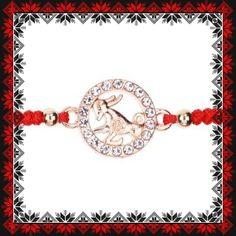 Martisor Bratara Aurie Zodia Capricorn Capricorn, Bracelet Watch, Zodiac, Metal, Bracelets, Accessories, Jewelry, See Through, Jewlery