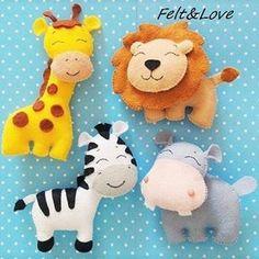 #feltcraft #felt#feltro #fieltro #feltanimals #animals