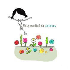 Nutrirme de todo lo bueno y bonito que me rodea. Ofrecer todo lo bueno y bonito que yo pueda dar. Hoy es un buen día para oxigenar(me) de color (el mundo). Eeeegunon mundo!! ::: Bizitza eta bihotza koloreztatu! Colors & Life. Colors in Life
