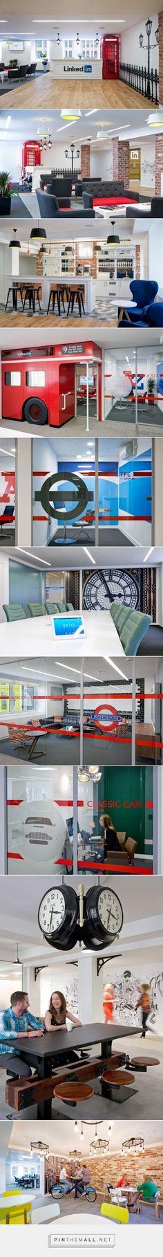 LinkedIn Office by Denton Associates, London – UK Corporate Office Design, Office Branding, Office Space Design, Corporate Interiors, Workspace Design, Office Interior Design, Office Interiors, Best Office, Cool Office