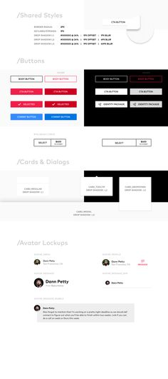 8pt Material Design GUI Templates Material design - web design quote template