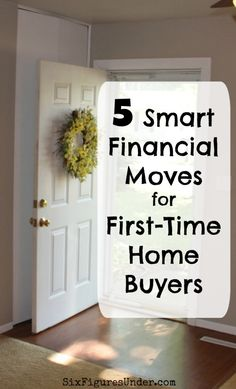 Being a first-time home buyer can be pretty overwhelming, but looking back we made some really smart financial moves when we bought our first house! home, 5 Smart Financial Moves for First-Time Home Buyers Buying First Home, Home Buying Tips, Home Buying Process, First Time Home Buyers, Buying A New House, New Home Buyer, Renting A House, Wall E, Interior Minimalista