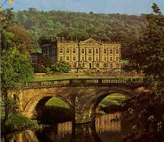 """pemberley""  [chatsworth house believed to be the backdrop for pemberley in jane austen's pride & prejudice]"