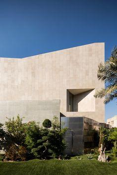 Wall House by AGi architects in Khaldiya, Kuwait