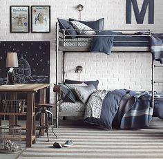 Industrial Steel Pipe Bunk Bed | Bunk Beds | Restoration Hardware Baby & Child