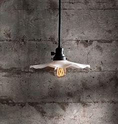 Rejuvenation Industrial: Willis  Industrial Cloth-Cord Pendant