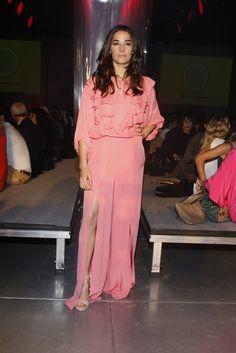Juana Viale en el Desfile Evangelina Bomparola ss16 en Designers Buenos Aires presentado por HSBC  (40)