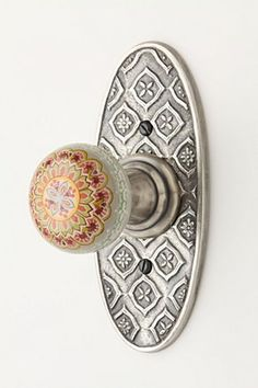 Superbe Marmara Plate Knob | Anthropologie.eu