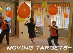 simple ways to transform any room into a warzone for the kids!