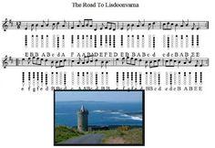 The Road To Lisdoonvarna Tin Whistle Sheet Music