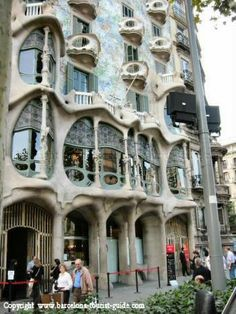 House of Bones. Barcelona, Spain. One of the most interesting buildings I wish to see.