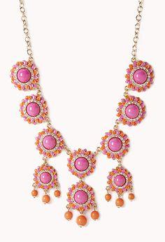 Opulent Floral Bib | FOREVER21 - 1000128933