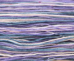 Dusty Unicorn is a muted, more pastel version of my Unicorn Fantasy colorway. This yarn is dyed in less saturated shades of pink, purple and blue. The gold sparkles really give this colorway the unicorn touch!  #sparkleyarn #yarn #sockknitting