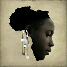 Taken from: ORIJIN CULTURE/MAGAZINE & FASHION A BRAND fusing Africa and the Diaspora together through a unique cultural lifestyle. Through a Magazine connecting all African descendants through Culture. Through a Fashion inspired by African… Black Women Art, Beautiful Black Women, Black Girls, African Beauty, African Women, African Fashion, African Tattoo, Wallpaper Fofos, Afrique Art