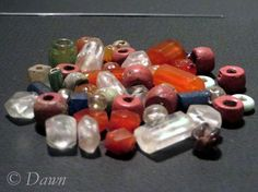 A long post showing a wide variety of Viking age beads from museum exhibits in Iceland and Canada (From Sweden finds).