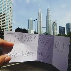 another gift from Mr. @sonniedewantoro 's #happyholidays with MAERU :D  #kualalumpur #holidays #tour