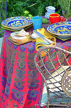 Feast with your eyes on all the designs and colors...Boho~