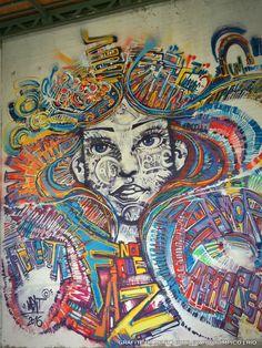 Graffiti by Ment   Boulevard Olímpico   Rio   by ritapinheiro_tour@yahoo.com