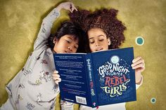 Good Night Stories for Rebel Girls is a children's book packed with 100 bedtime stories about the life of 100 extraordinary women from the past and the present, illustrated by 60 female artists from all over the world. Lgbt, Good Night Story, Feminist Books, Book Girl, Bedtime Stories, 12 Year Old, Women In History, The Life, Real Life