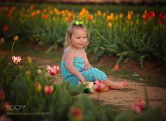 Karsyn in the Garden by Joshua-Melton