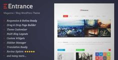 Download and review of Entrance - WordPress Theme for Magazine and Review, one of the best Themeforest Magazine & Blogs themes {Download & review at|Review and download at} {|-> }http://best-wordpress-theme.net/entrance-magazine-review-download-review/