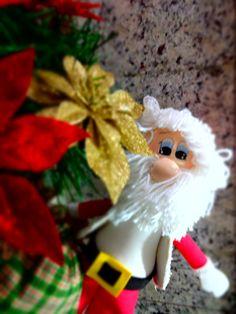 Papai Noel em EVA que fiz com muito carinho!!!