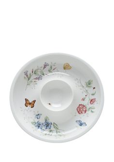 LENOX Butterfly Meadow Chip and Dip