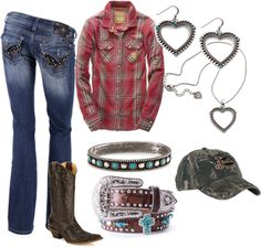 """""""Redneck Girl"""" by idahocowgirl on Polyvore"""