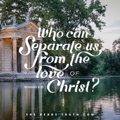"""Day 22 of """"Romans: The Essential Gospel,"""" a Bible-reading plan from She Reads Truth. Good Quotes, Inspirational Quotes, Romans Bible, Romans 8, Quote Of The Week, Art Prints Quotes, Bible Verses Quotes, Scriptures, Favorite Words"""