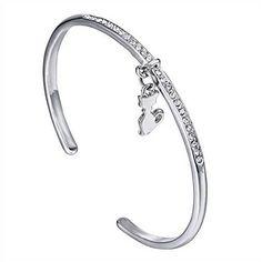 New 2016 Silver bracelet for Cat Lover Silver Bracelet Crystal Cuff Charm Bangle best for her Cat Love Bracelet/Bangle Unbranded http://www.amazon.com/dp/B01DM04QKO/ref=cm_sw_r_pi_dp_MGu.wb14D3K6Q