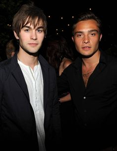 Chace Crawford et Ed Westwick