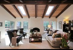 Skylights for a vaulted ceiling