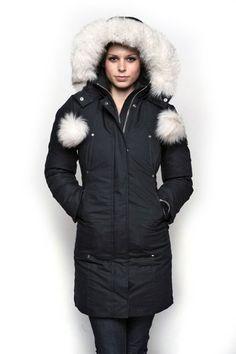 Moose Knuckles — Stirling Parka-Black X-Small #parka #women'sfashion #winter