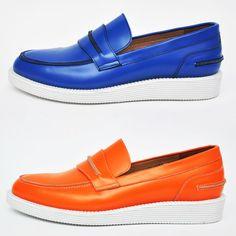 Vibrant Custom Mango Slip On Cleeper-Shoes 276 Men's Shoes, Shoes Sneakers, Dress Shoes, Custom Made Shoes, Smart Casual, Casual Sneakers, Loafers Men, Mango, Vibrant