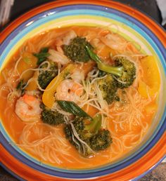 Low Calories, Thai Red Curry, Ramen, Lunch, Cooking, Ethnic Recipes, Food, Thai Soup, Recipes
