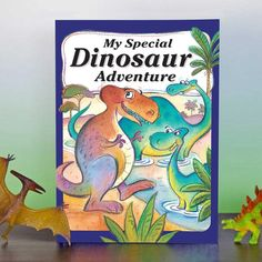 Personalized Children's Book: My Special Dinosaur   Etsy Personalised Childrens Books, Multiplication For Kids, Prehistoric Creatures, T Rex, Good Books, Children's Books, The Book, Adventure, Fun