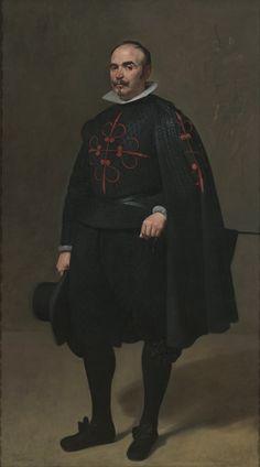 Diego Velázquez, Portrait of Don Pedro de Barberana